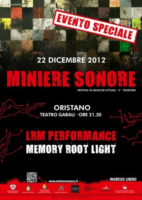 Cartel Miniere LRM - Colaboratorio Arte