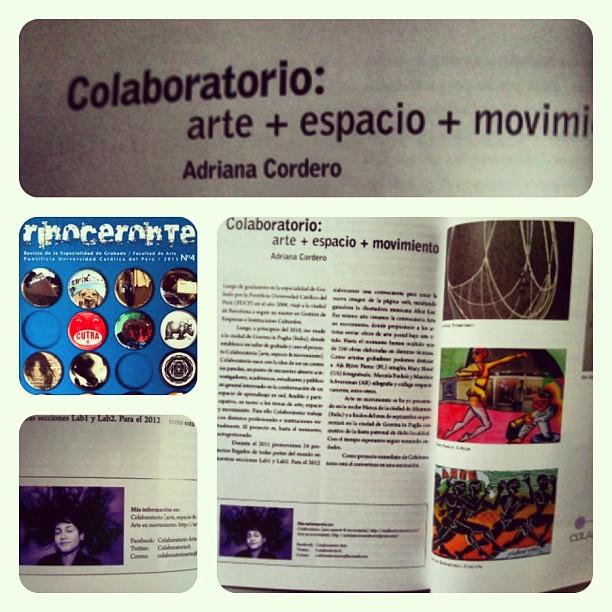 Revista Rinoceronte - Colaboratorio Arte