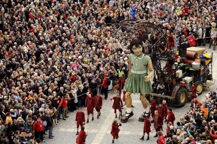 Royal de Luxe. Fuente: www.iconocluster.com