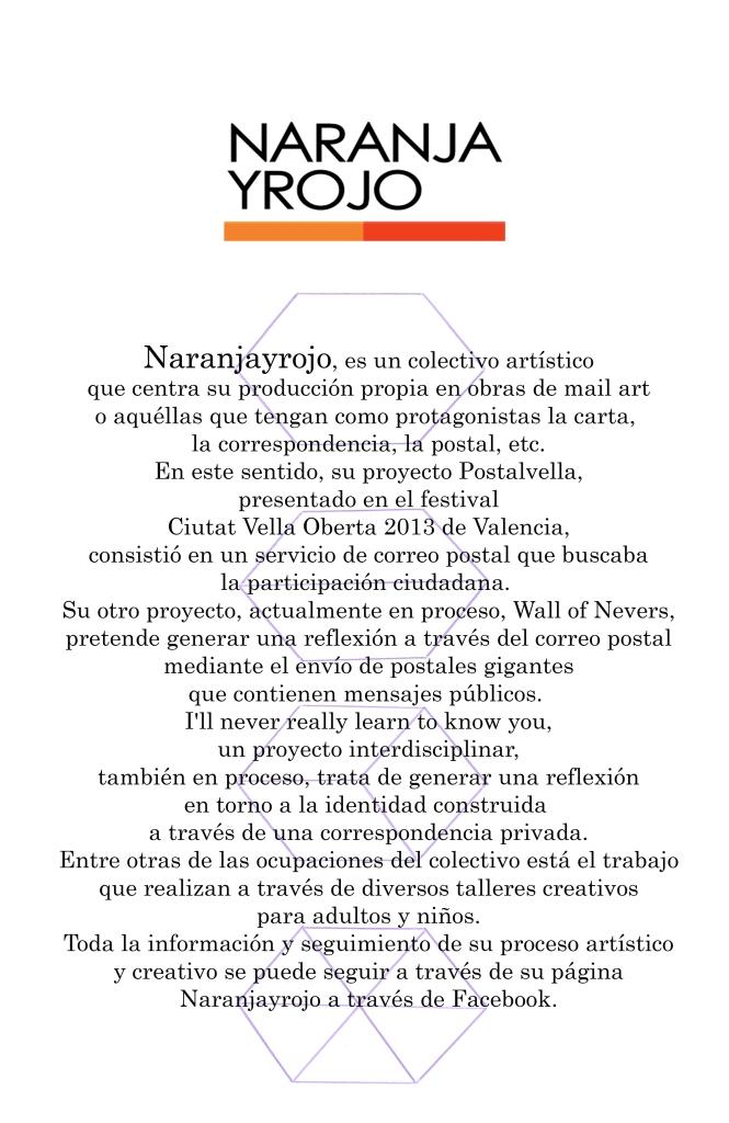 NARANJAYROJO - COLABORATORIO ARTE
